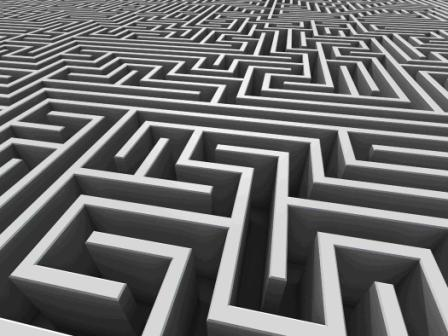 Do you think you could find your way out of a full sized maze?