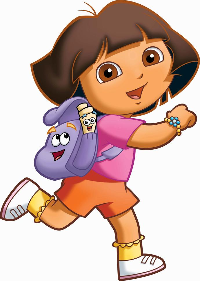 Why is Dora the explorer not in school but out there exploring?