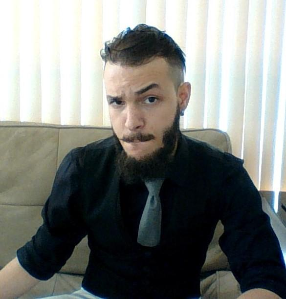 Would you ever go to an interview with white pants? And side question, do you like my new haircut?