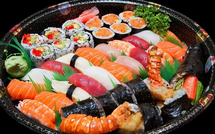 erm....do you love sushi?
