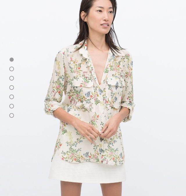 Does this floral blouse looks granny-like?