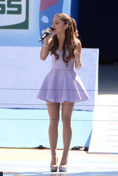 Has Ariana Grande looked better in girly outfits or does she look better now?