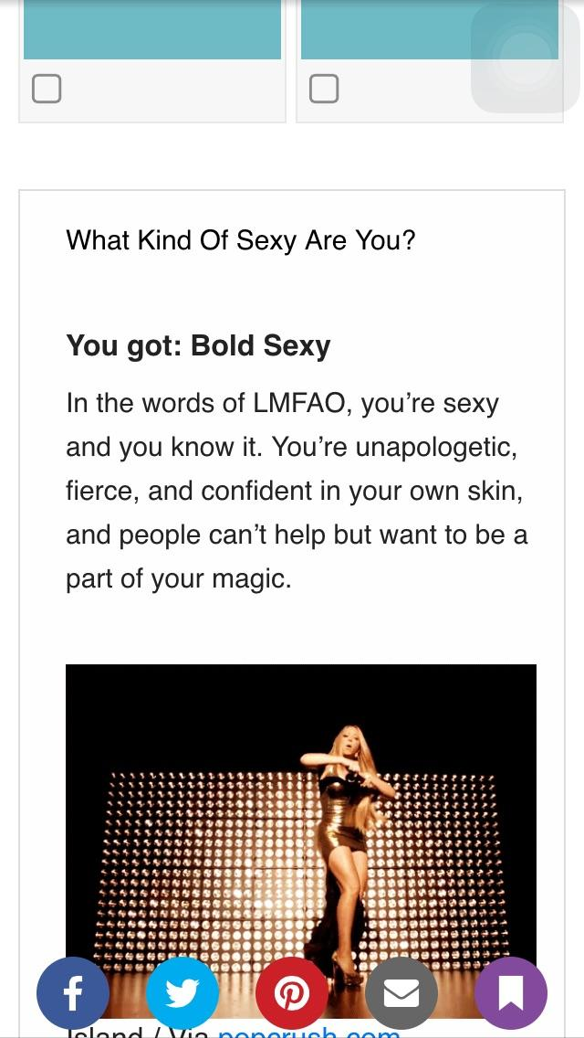 Quiz: what kind of sexy are you?