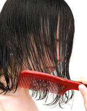 Was your hair ever SO greasy that it looked...wet?