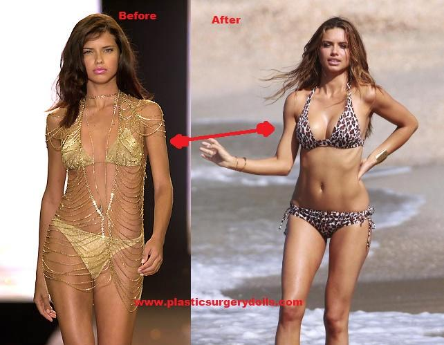 So Adriana lima is huge right now .......................guys?