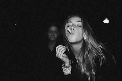 Do you think smoking photos of girls are hot or gross?