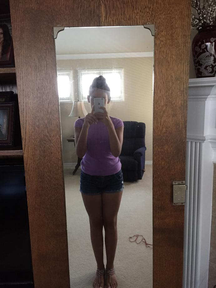 Do my thighs, hips, and stomach look fat?