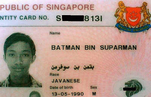 What is the weirdest name someone has introduced themselves to you?
