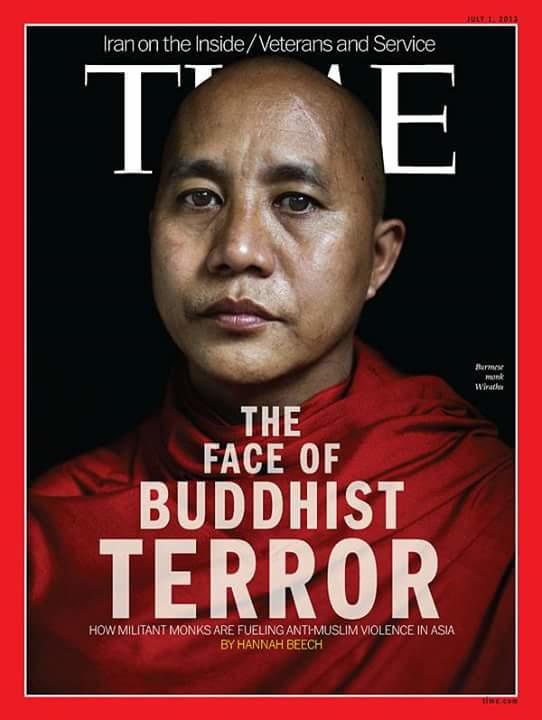 Why Buddhist r killing people in Burma?