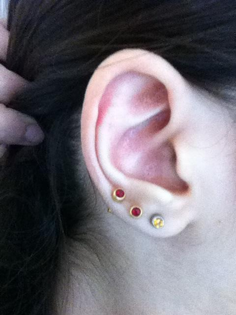 What do you think about ear piercings? Like this picture??