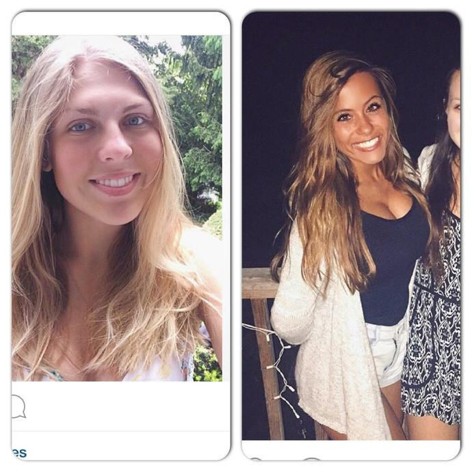 Which girl is more attractive?