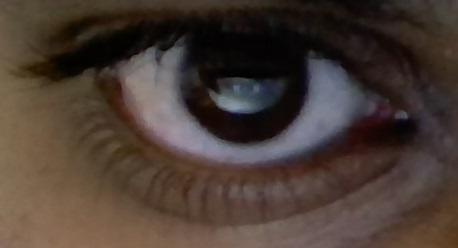 Does my eye look like a girls' eye?