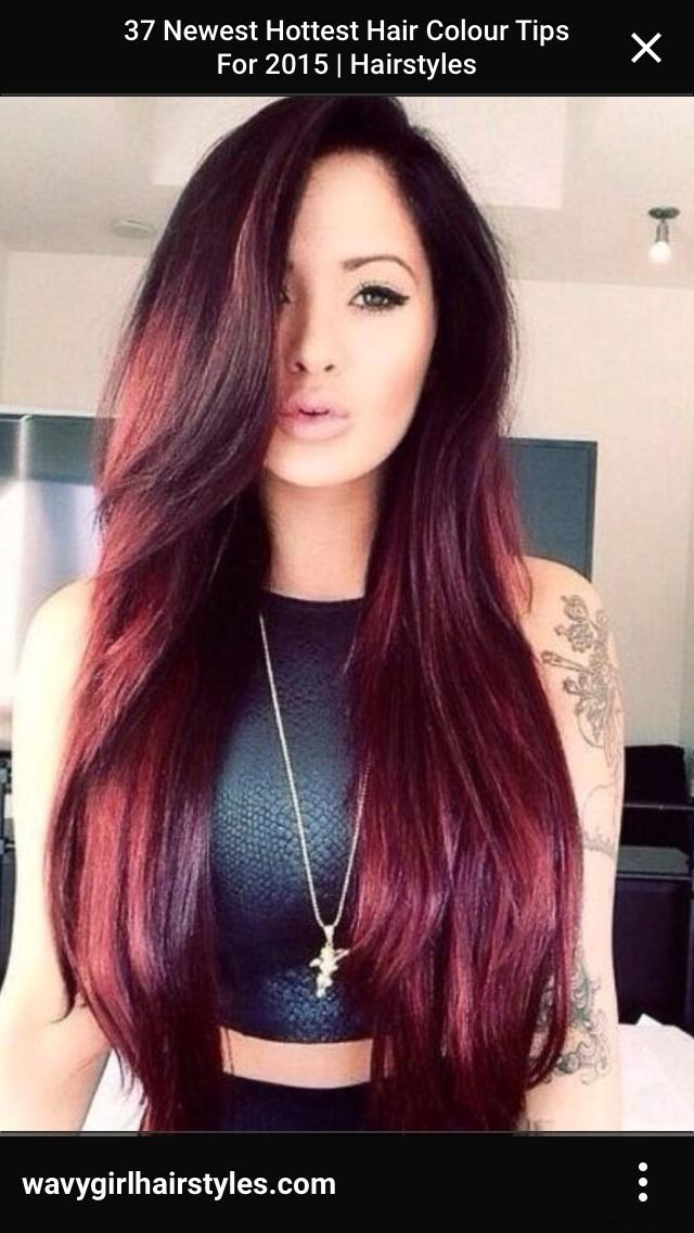 What Color Should I Dye My Hair Red Purple Or Blue Girlsaskguys