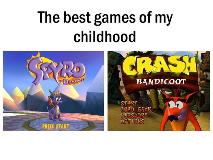 What was your favorite childhood game for consoles / devices released before 2005?