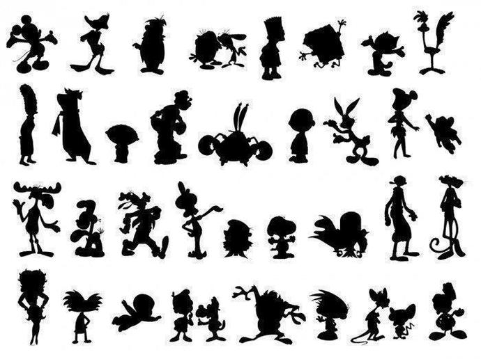 Name as many of these characters you know?