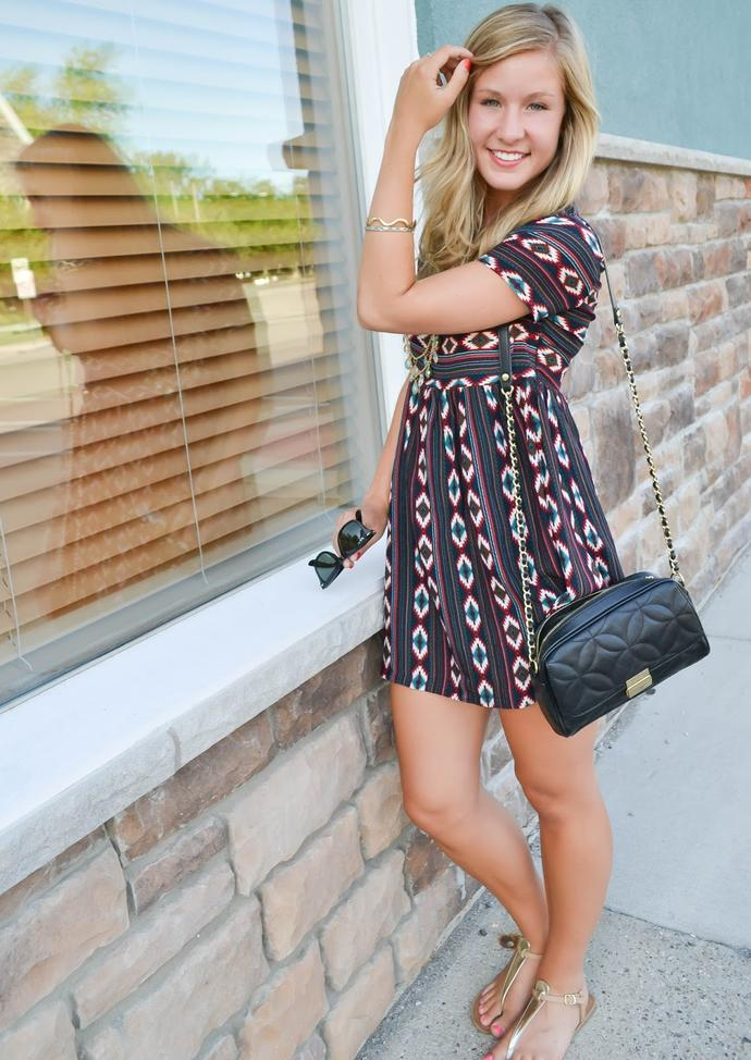 Casual dress with sandals or converse shoes?