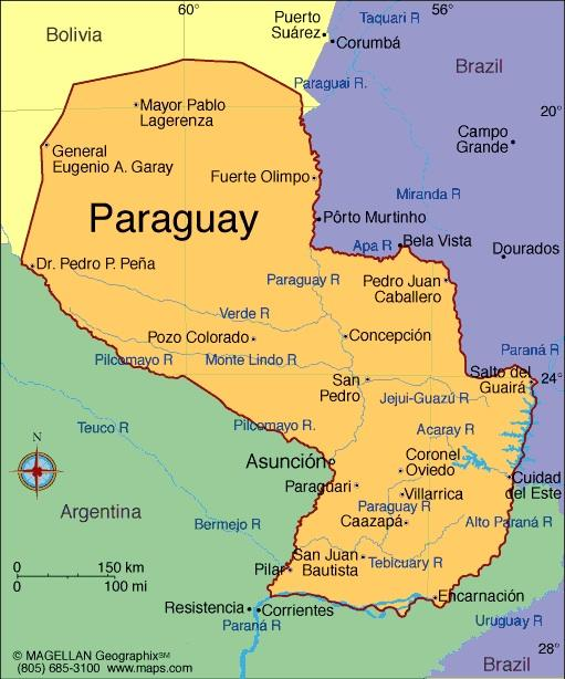When you think of Paraguay, what first comes to mind?
