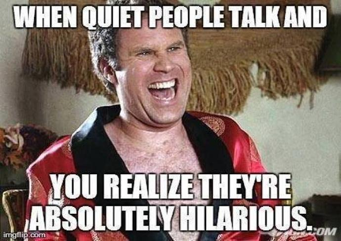 If you met me in real life and found out I was actually a pretty quiet and solitary person, would you be surprised?