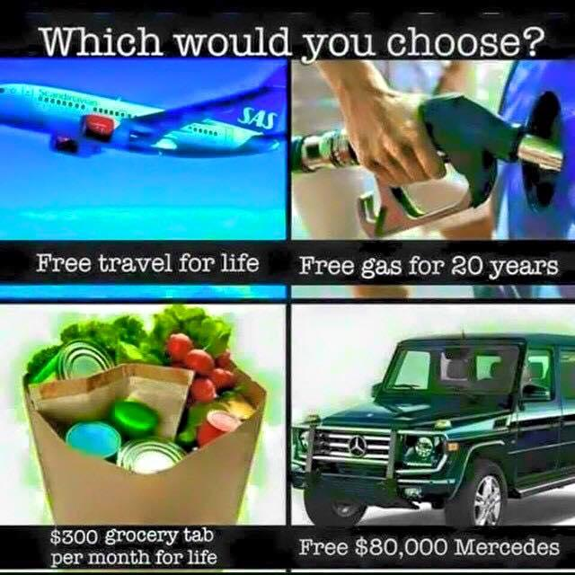 Which would you choose, and why?