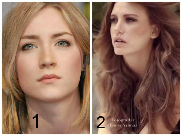 My friend and I have a challenge .. I need you all to vote honestly which girl do you find more pretty ?