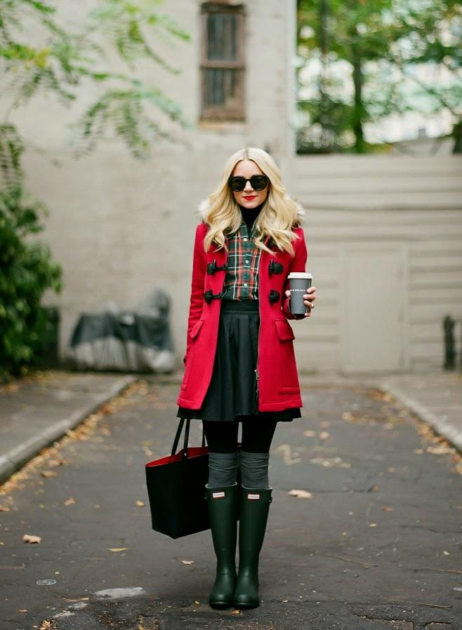 Girls, what do you think of this rainy day look?