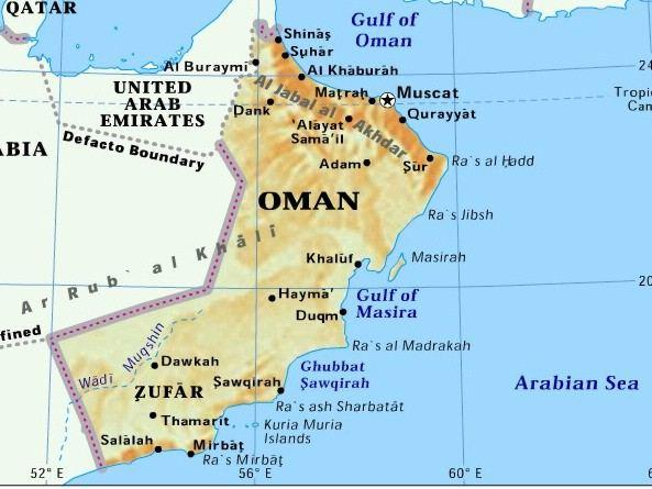 When you think of Oman, what first comes to mind?