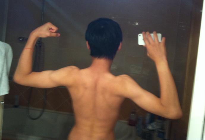 Girls, is my back(pic) ok?