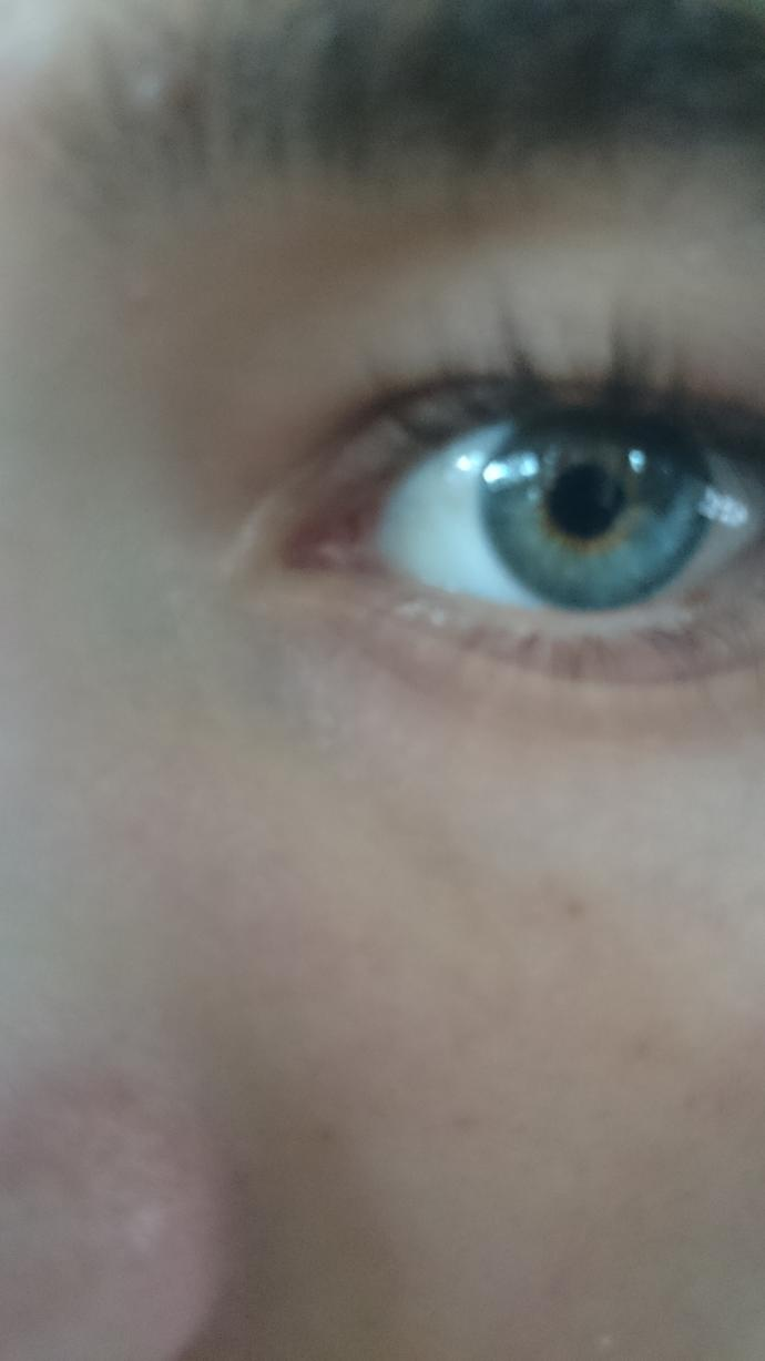 How would you describe my eye color?
