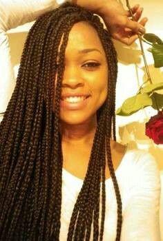 Why is Black Girls' hair like that (Box Braid)?