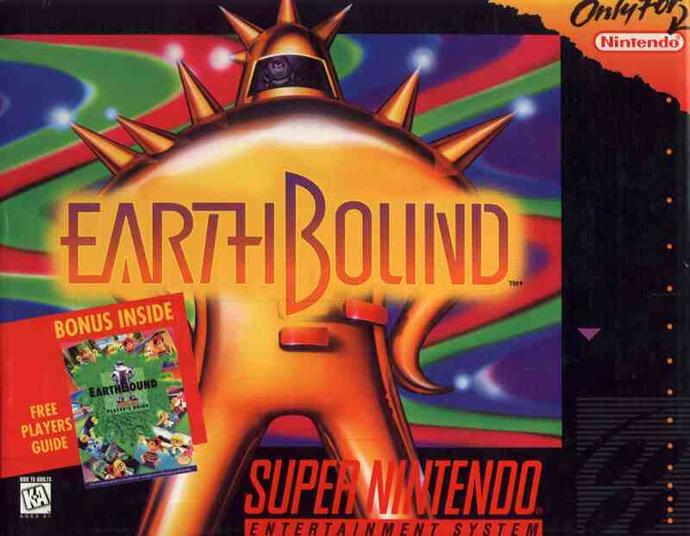 Anyone remember the Super Nintendo Entertainment System (SNES) video game, Earthbound?