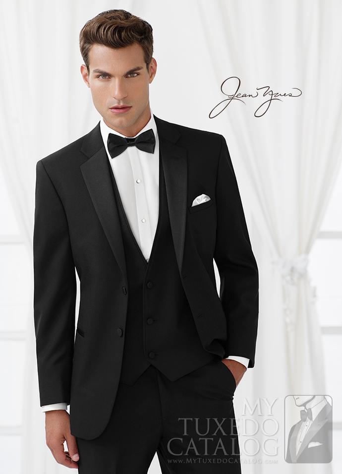 What color tux looks best on the groom? Bowtie or tie? Vest or no vest?