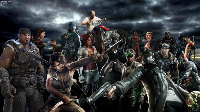 What is your favorite PC THIRD PERSON shooter action/adventure game?