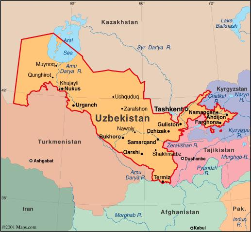 When you think of Uzbekistan, what first comes to mind?