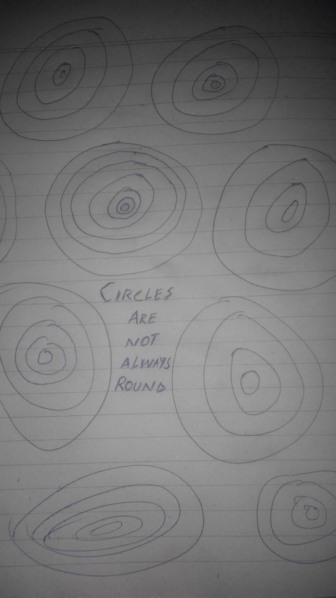 Are my circles round enough? Thoughts on my 'art' ?