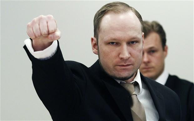 What's your viewpoint of the notorious Norwegian terrorist, Anders Behring Breivik?