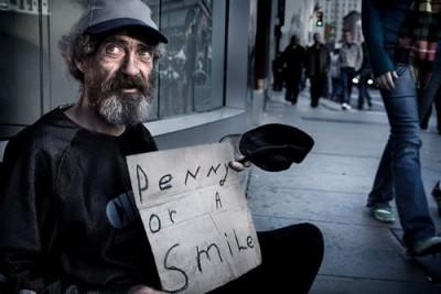 What's the first thing that comes to your mind when you see a homeless person?