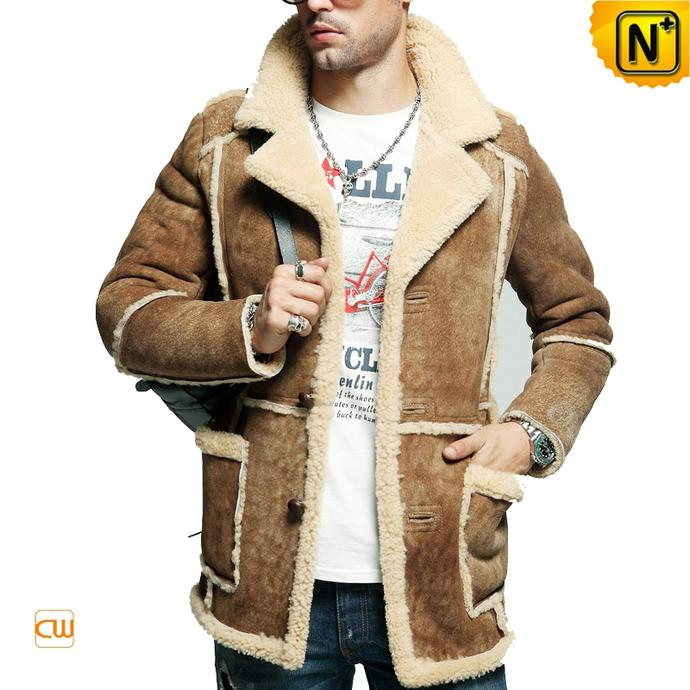 Girls, what do you think about sheepskin coats on guys?