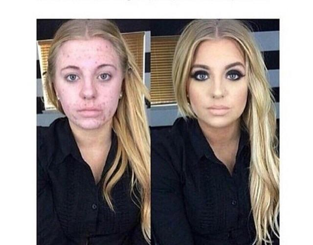 Seriously you all is make-up necessary ?