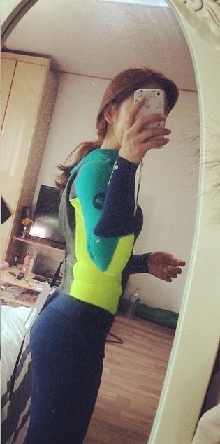 Girls, can I wear a wetsuit instead of bikini for a day on the beach?