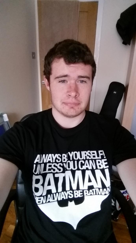 Do you like my batman t-shirt?