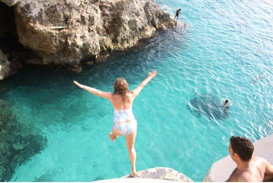 Have you ever jumped off the rocks?