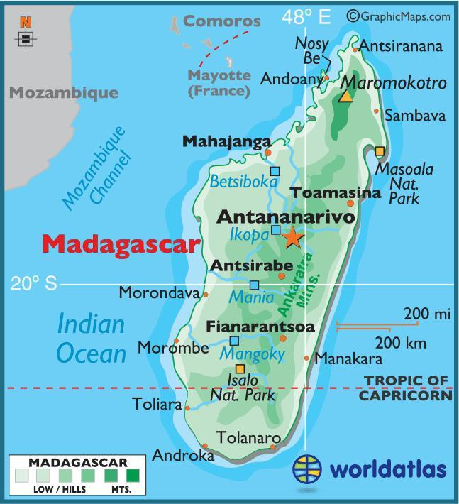 When you think of Madagascar, what first comes to mind?