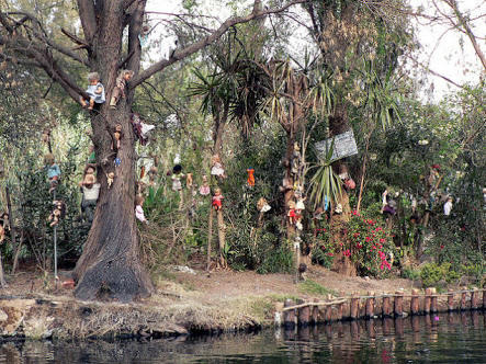 Can Anyone tell me if Mexican doll island is haunted?