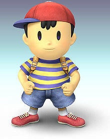 If Nintendo makes another Super Smash Bros game on their NX console and added this character Giygas from Earthbound as a playable fighter along with?