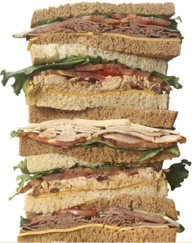 list your sandwich?