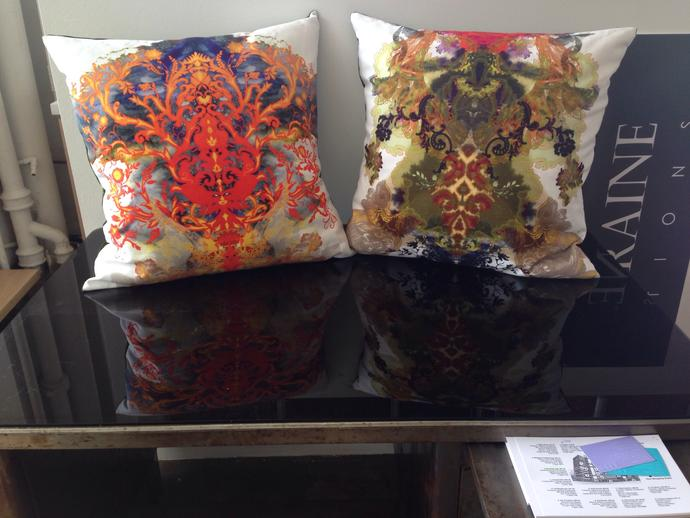 What sort of feel/origin do these pillows have?
