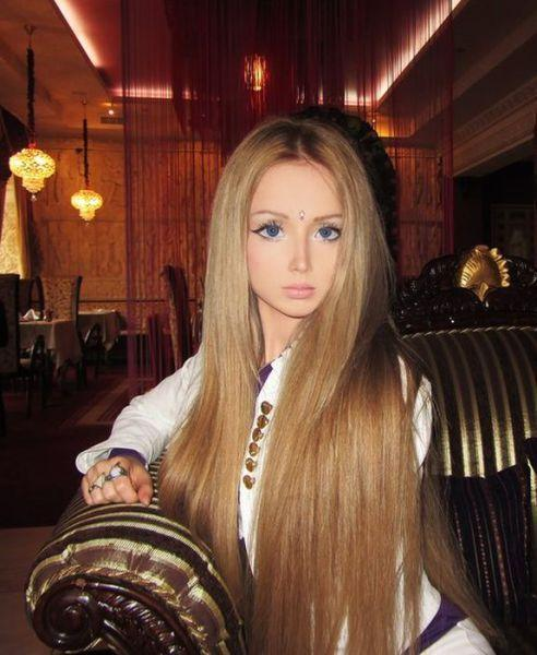 Rate This Living Barbie Doll, Would you date a girl like her? Is she pretty /hot / sexy?