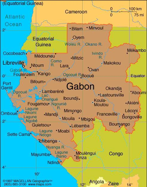 When you think of Gabon, what first comes to mind?