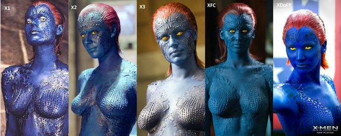 Which Mystique from X-men is your favorite?