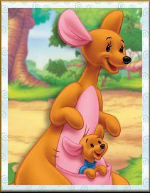 Who is Roo's father in Winnie the Pooh?